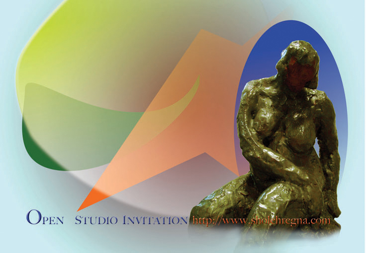 Sholeh Regna 2011 Spring Open Studio Invite