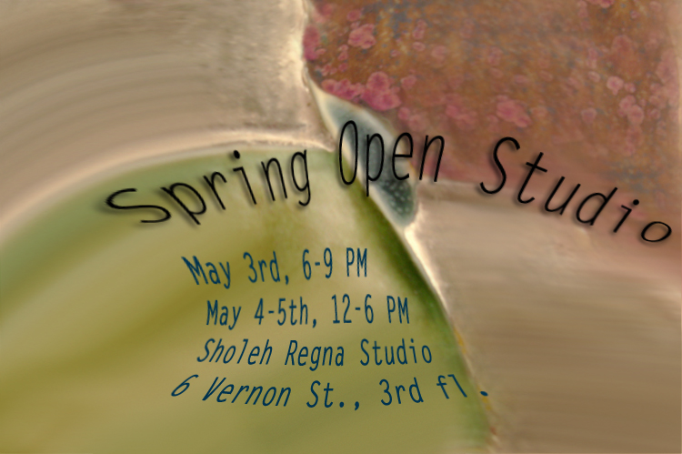 An invitation to Sholeh Regna Open Studio