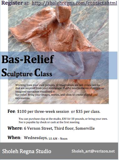 Bas-Relief Sculpture Class