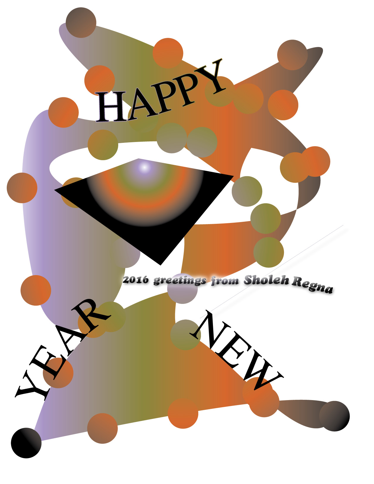 A New Year Greeting: Peace and Joy To All