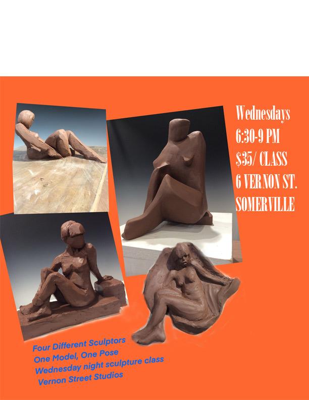 Sholeh Regna Sculpture Class